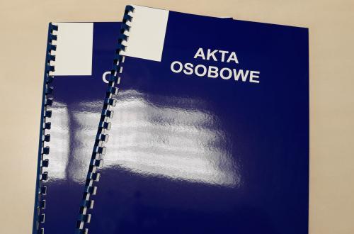 Nowe zasady przechowywania dokumentacji pracowniczej